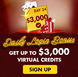 Daily Login Bonus - Sign Up