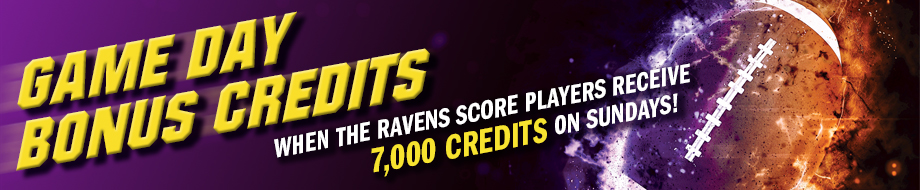 Game Day Bonus Credits